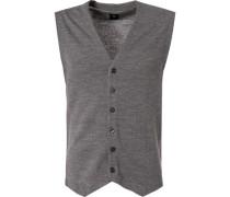 Pullover Strickweste, Wolle-Alpaka-Microfaser