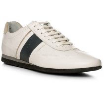 Schuhe Sneaker, Leder, creme