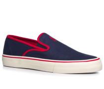 Schuhe Slip Ons, Canvas, navy