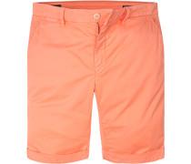 Hose Shorts, Baumwolle, lachs