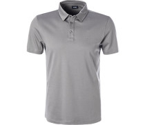 Polo-Shirt, Modern Fit, Baumwoll-Jersey