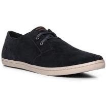 Schuhe Sneaker, Veloursleder, nacht