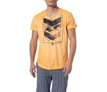 T-Shirt, Baumwolle, apricot