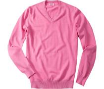 Pullover, Baumwolle, pink