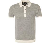 Polo-Shirt, Regular Fit, Leinen