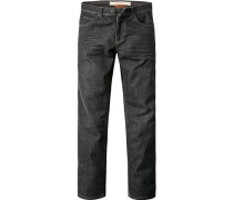 Jeans, Baumwoll-Stretch, anthrazit