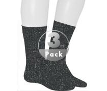 Socken, Baumwolle mercerisiert