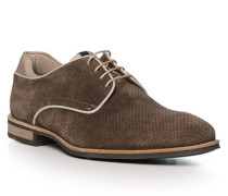 Schuhe Derby Matthew, Kalbveloursleder