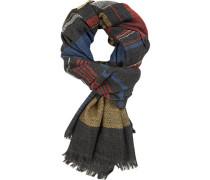 Schal, Wolle, dunkel gestreift
