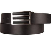 Gürtel Wendegürtel, schwarz-, Breite ca. 4 cm