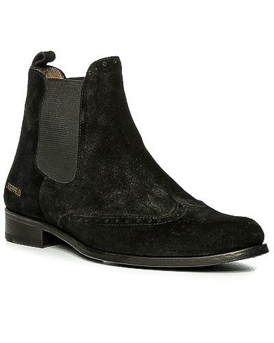 Karl Lagerfeld Herren Schuhe Chelsea Boots, Veloursleder