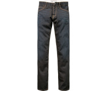 Jeans, Regular Fit, Baumwolle 11 oz, indigo