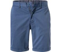 Hose Shorts, Regular Fit, Baumwoll-Stretch, navy