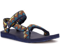 Schuhe Sandalen, Textil,  gemustert