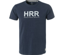 T-Shirt, Classic Fit, Baumwolle, navy