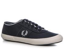 Schuhe Sneaker, Baumwolle, marine