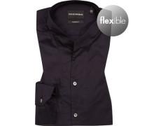 Hemd, Modern Fit, Baumwolle, nacht