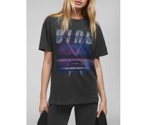 T-Shirt VIPER mit Vintage-Print