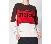 Sweater mit Logoprint