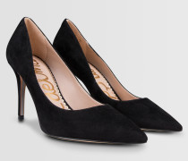 Pumps aus Veloursleder