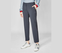 Elegante Hose aus Schurwolle