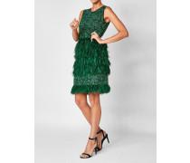 Besticktes Feder-Kleid