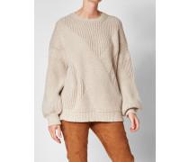 Pullover mit Grobstrickmuster
