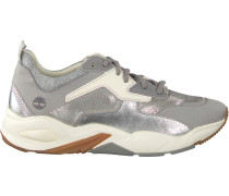 Silberne Sneaker Delphiville Leather Sneaker DE