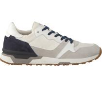 Weiße Crime London Sneaker 11404Pp1