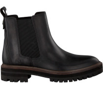 Schwarze Timberland Chelsea Boots London Square Chelsea