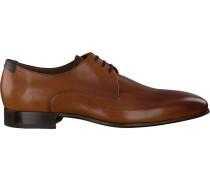 cognac Floris Van Bommel shoe 14095