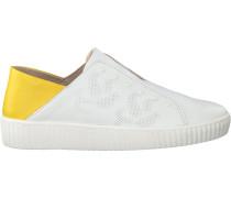 Weiße Mjus Slip-on Sneaker 685105