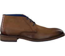Cognacfarbene Braend Business Schuhe 24585