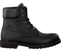 Schwarze Ankle Boots Panama Heren 03 Aviator