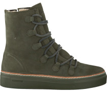 Grüne Blackstone Schnürstiefel Ol26