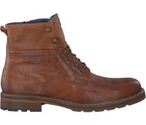Cognacfarbene Rehab Ankle Boots Carl