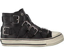 Schwarze Ash Sneaker Verso