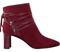 Rote What For Stiefeletten GUY KID Suede Sheep