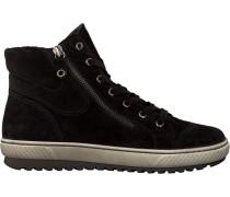 Schwarze Gabor Sneaker 754