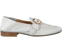 Weiße Bronx Loafer 66064