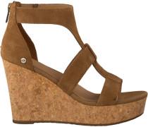 cognac UGG shoe Whitney