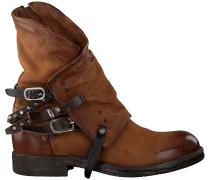 Cognacfarbene A.s.98 Biker Boots 207235 19