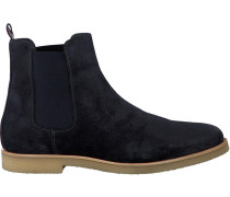 Blaue Tommy Hilfiger Chelsea Boots William 2B