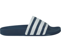 Blaue Adidas Zehentrenner Adilette Dames