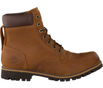 Braune Ankle Boots EK Rugwp 6 BTP RED B MED
