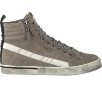 Beige Diesel Sneaker D-Velows MID