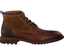 Cognacfarbene PME Business Schuhe Phantom
