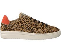 Braune Nubikk Sneaker Yeye Nintu