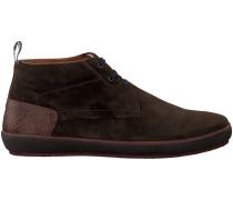 Braune Floris Van Bommel Sneaker 10989