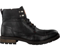 Schwarze Tommy Hilfiger Ankle Boots Curtis 13A